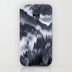 Misty Forest Mountains Galaxy S5 Slim Case