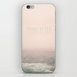 Found At Sea iPhone Skin