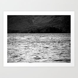 Dancing on the water Art Print