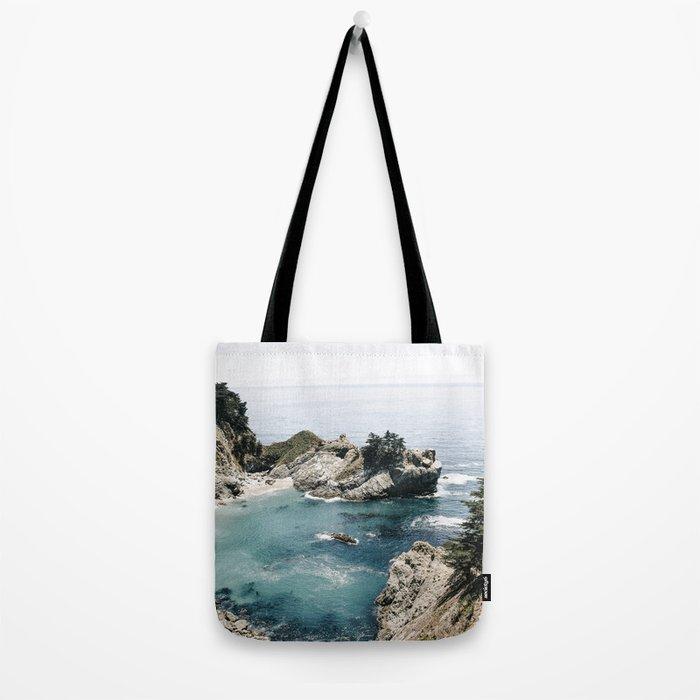 Mcway Falls Faded Tote Bag