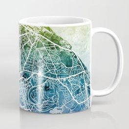 Edinburgh Scotland Street Map Coffee Mug