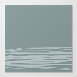 White Sea Canvas Print