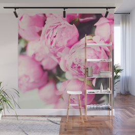 Pink peony Wall Mural