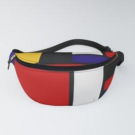 Mondrian De Stijl Art Movement Fanny Pack