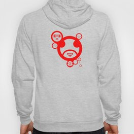 RED - Type Face Hoody