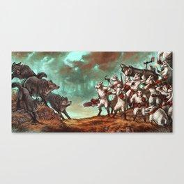 Team Sheep Canvas Print