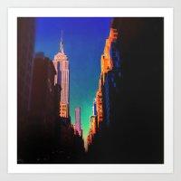 Kodachrome New York  Art Print