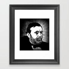 18. Zombie Ulysses S. Grant  Framed Art Print