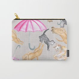 It's raining cats and dogs Carry-All Pouch