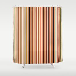 Old Skool Stripes - Morning Shower Curtain