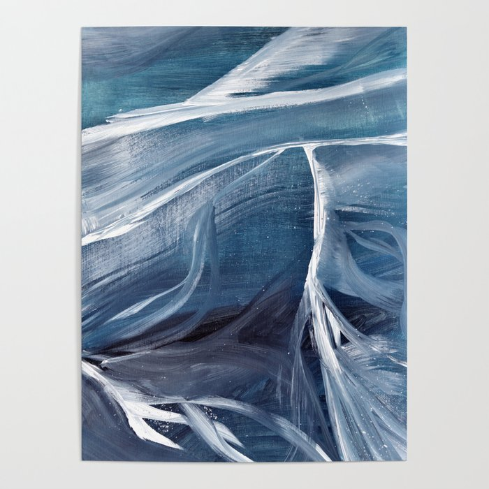 Layers of ice Poster
