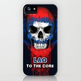 To The Core Collection: Laos iPhone Case