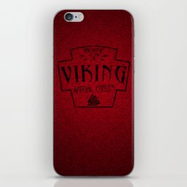 Viking Valkyrie Special Forces iPhone Skin
