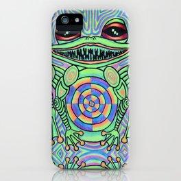 Reflecting Frog iPhone Case