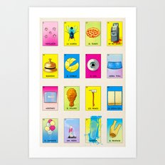 BB Loteria Cards Art Print