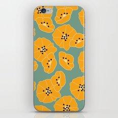 Retro bloom 003 iPhone & iPod Skin