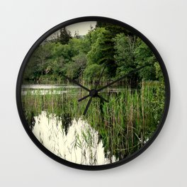REFLECTIONS ON LOUGH DERG Wall Clock