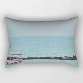 Between Sea and Sky Rectangular Pillow