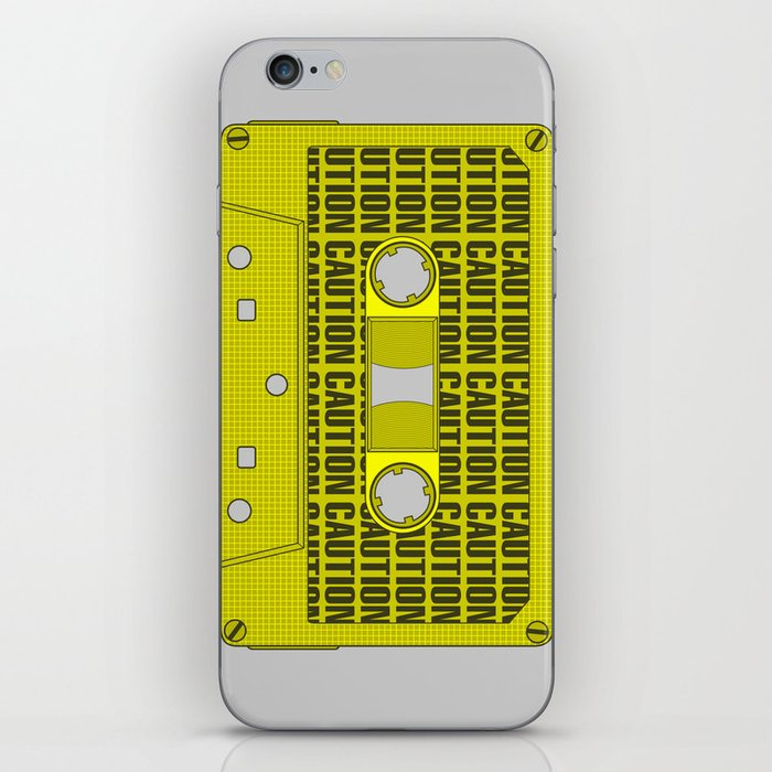 Caution Tape iPhone Skin