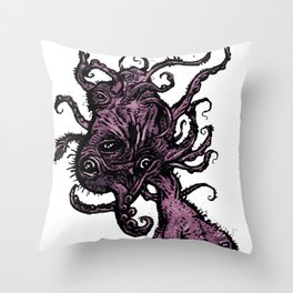 Baby Cthulhu Throw Pillow