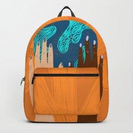 One strange rock Backpack