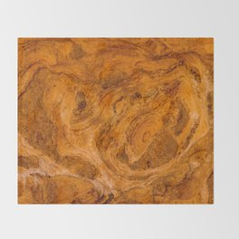 Natural Stone Art-The Cistern, Gold Butte, NV Throw Blanket
