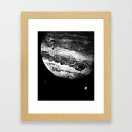 Jupiter & 3 Minions Framed Art Print