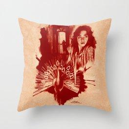 Homage to Suspiria Throw Pillow