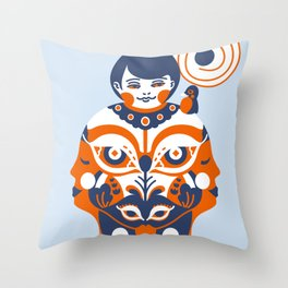 Gratified Throw Pillow