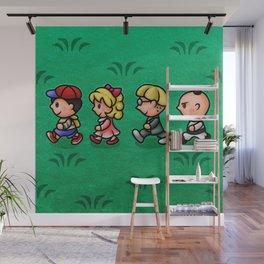 Earthbound Guys Wall Mural