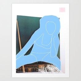 She's Got The Blues Art Print