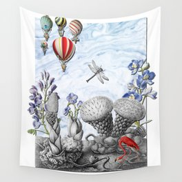 THE VISITORS Wall Tapestry