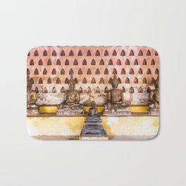 Wat Si Saket Buddhas IV, Vientiane, Laos Bath Mat
