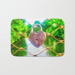 Love Lock Bath Mat
