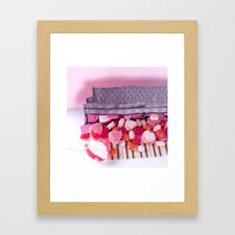 I Love That Emo Couch Framed Art Print