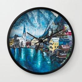 Hallstatt, Austria Wall Clock