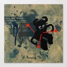 No Escaping This 5 Canvas Print
