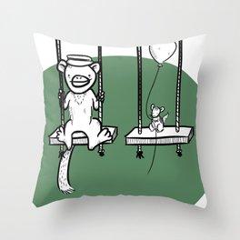 Swings! Throw Pillow