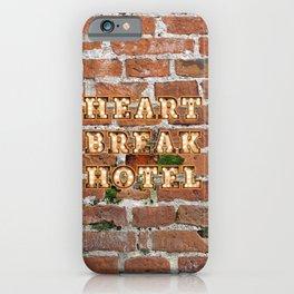 Heart Break Hotel - Brick iPhone Case