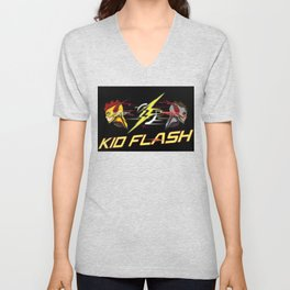 Kid Flash Unisex V-Neck