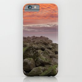 Sunrise Colwyn Bay iPhone Case
