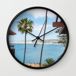 La Jolla Cove Wall Clock