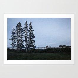 Easterly; Island View Art Print