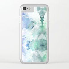 Flocculent Clear iPhone Case