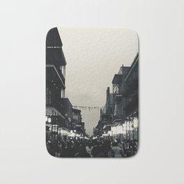 Black & White Bourbon Street Bath Mat