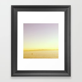 Evening Sail Framed Art Print