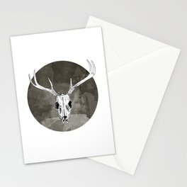 Stag Skull Stationery Cards