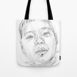 My little son Tote Bag