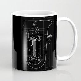 Geometric Tuba Coffee Mug