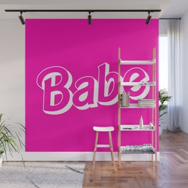 Babe Doll Look Wall Mural